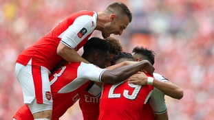 Arsenal win record 13th FA Cup in an inspired performance against Premier League Champions Chelsea