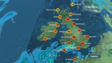 Weather: Dry for most with some bright spells