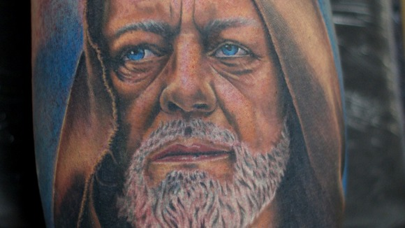 Obi-Wan Kenobi tattoo