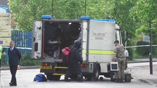 Suspicious package in busy street was hoax