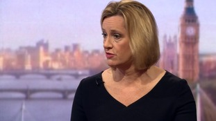 Home Secretary Amber Rudd 'worried' about Labour's ability to deal with terror threats