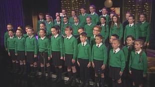 Co Down school choir makes BGT live semi-finals