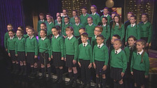 Co Down school choir makes BGT live semi-finals