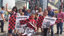 Exeter City at Wembley: the League Two play-off final
