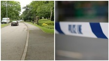 Police were called to the incident in Scraptoft Lane at around 10.10pm.