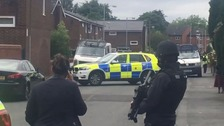 Police raid home in connection with Manchester attack