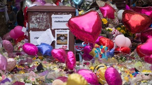 Tributes for the victims of the Manchester Arena bombing