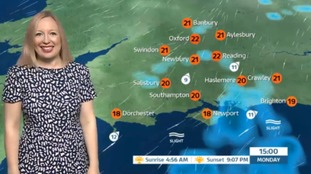 Bank Holiday weather for the west