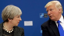 May was 'very angry' about Manchester leaks, says Trump