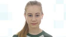 Freya Lewis was injured in Monday night's attack