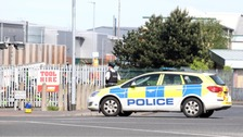 Man shot in supermarket car park