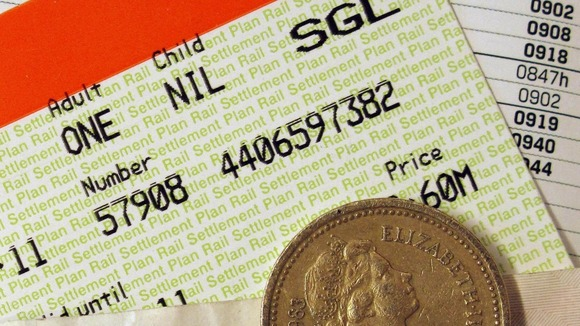 Rail fare rises revealed