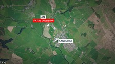 Two killed after crash near Sanquhar