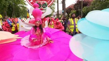 Carnival cheer draws the crowds in Luton