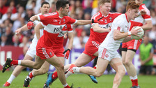 Tyrone set up semi-final showdown with win over Derry