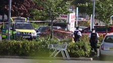 Man dies after being shot in Sainsbury's car park
