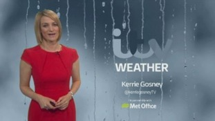 Bank Holiday weather forecast with Kerrie
