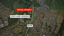 Serious sexual assault in Hampshire
