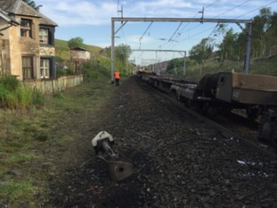 Overhead lines have been damaged between Oxenholme and Penrith.