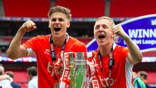 Blackpool striker hails Bowyer following promotion