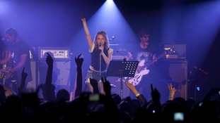 Kylie Minogue performs on her 'anti-tour'
