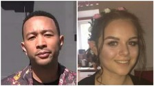 John Legend pays tribute to Manchester victim