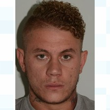 Martin Grant, 27, has been jailed.