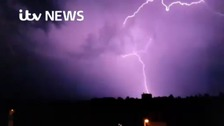 Angry skies: Viewers capture lightning strikes across Kent