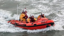 A file image of an RNLI lifeboat.