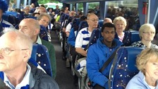 Reading fans heading to Wembley - hoping it's the road to victory
