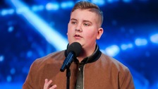 Kyle Tomlinson wowed the judges - especially David Walliams.