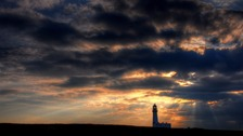 Flamborough sunset MIKE BARNARD