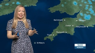 Mostly clear afternoon with highs of 21 degrees