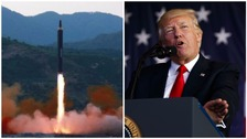 Trump: N Korea showed China 'disrespect' with missile