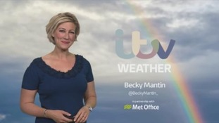 Cloudier across the UK with thundery rain at times
