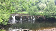 Man dies after getting into trouble at North Yorkshire waterfall