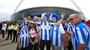 Wembley sea of blue and white ahead of playoff final