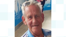 Mr Hale is from Cannock but was last seen in Blackpool.