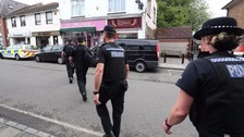The raid in Sussex this morning