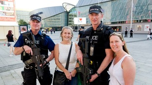 Officers were out in Merseyside this weekend ensuring the public's safety