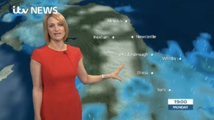 VIDEO: Monday's forecast for the North East