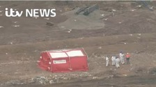 Ongoing search of landfill site in Pilsworth, Bury
