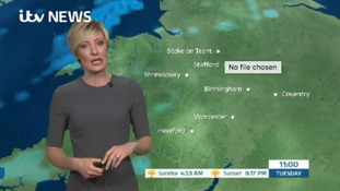 West Midlands Weather: Cloudy with patchy rain