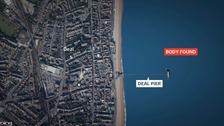 Man's body found near pier off Kent coast