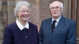 Man charged with murdering pensioners in own home