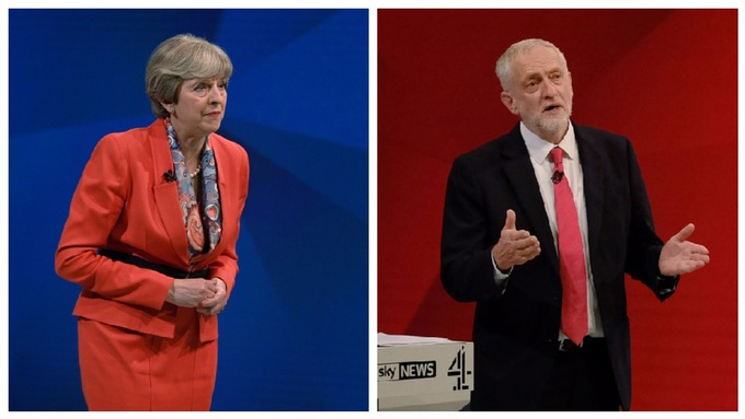 Image result for theresa may gets personal with attack on jeremy corbyn