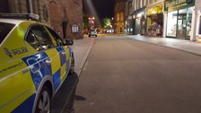 Exeter centre evacuated after suspect package found
