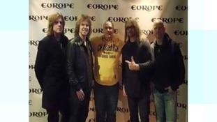 Swedish rock band Europe