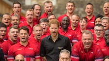 Prince Harry unveils UK squad for Invictus Games 2017