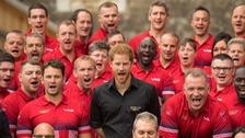 Prince Harry unveils UK squad for Invictus Games 2017